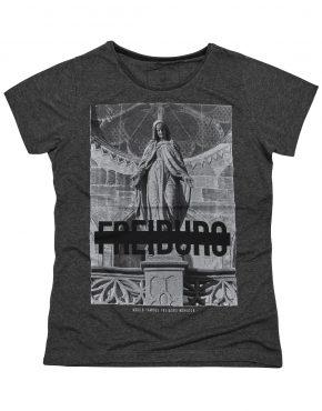 Freiburg Münster T-Shirt Grau