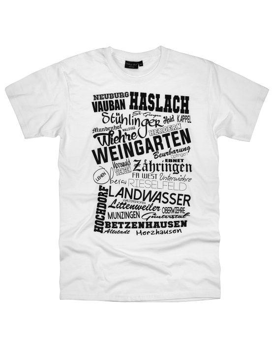 Freiburg T-Shirt Weiß