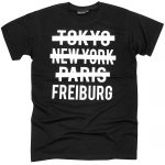 Freiburg T-Shirt Schwarz