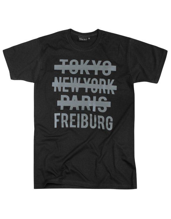 Freiburg T-Shirt Schwarz