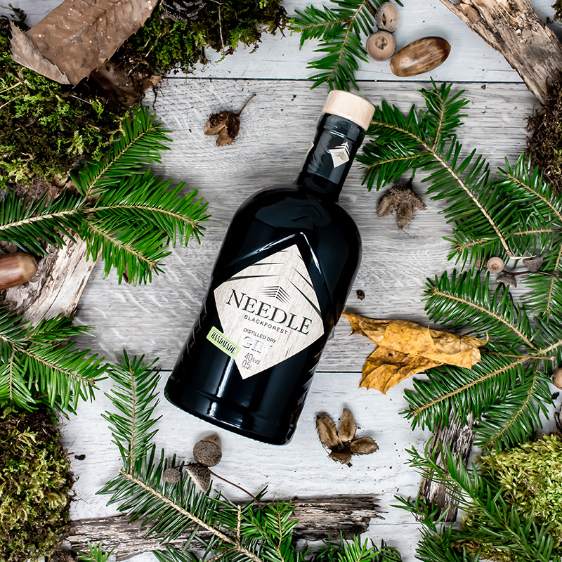 Needle Black Forest Dry Gin Freiburgs Finest Pop-Up Stpre