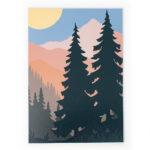 Schwarzwald Black Forest Print Poster Bild
