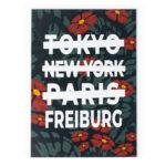 Freiburg Tokyo Print Poster Bild